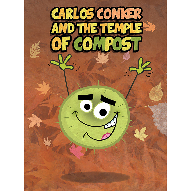 Conkers Children's Book Cover
