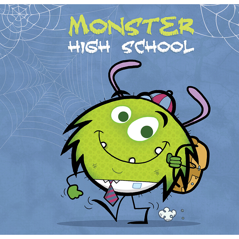 Monster High School Book Cover