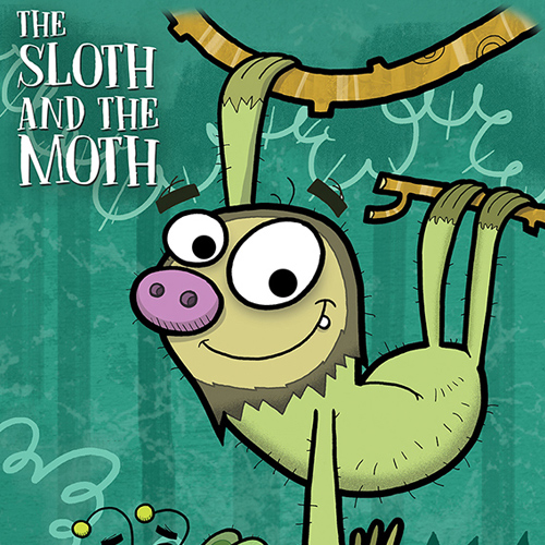 Sloth And The Moth Book Cover