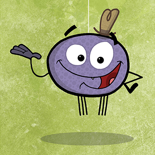 Webster The Spider, Character Mascot
