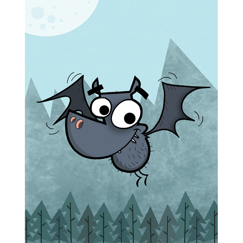 A Bat Out For Halloween